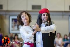 Josh & Donna Pirate dancing